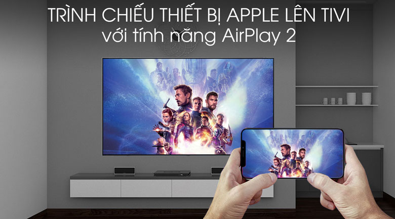 Smart Tivi QLED Samsung 4K 65 inch QA65Q75R - AirPlay 2