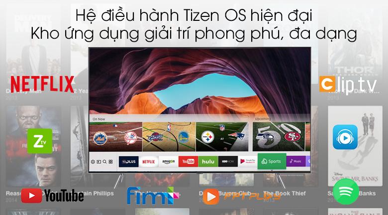 Smart Tivi QLED Samsung 4K 75 inch QA75Q75R - Tizen OS