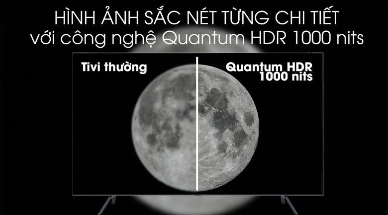 Smart Tivi QLED Samsung 4K 75 inch QA75Q75R - Quantum HDR 1000 nits