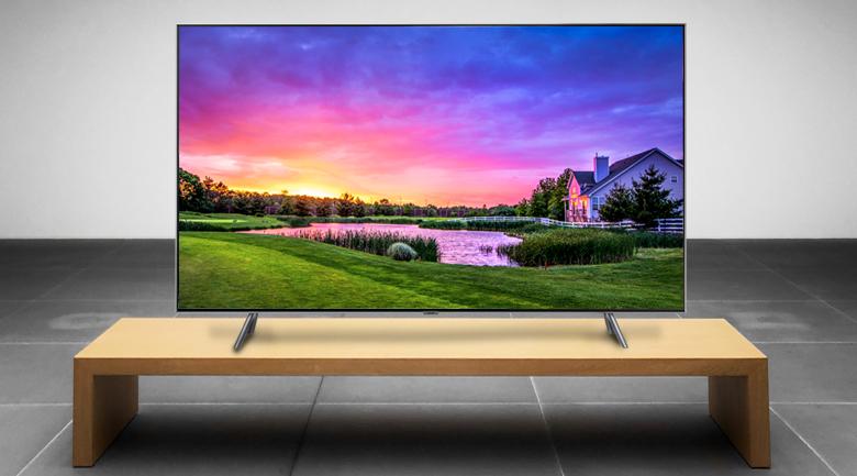 Smart Tivi QLED Samsung 4K 75 inch QA75Q75R - Thiết kế