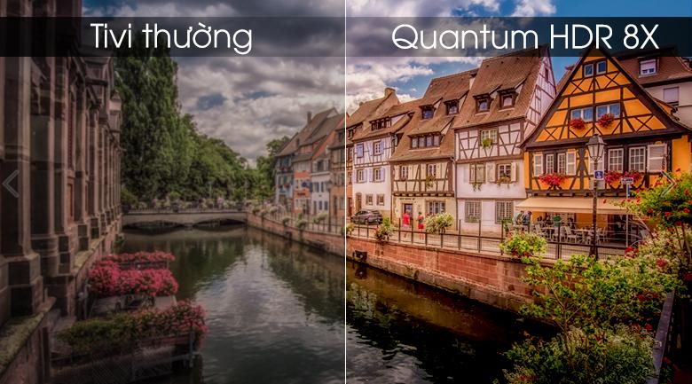 Smart Tivi QLED Samsung 4K 75 inch QA75Q75R - Quantum HDR 8X