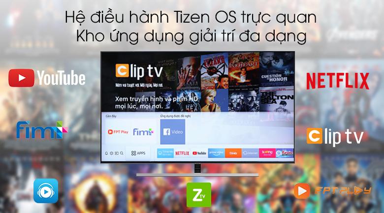 Smart Tivi QLED Samsung 4K 55 inch QA55Q80R - Tizen OS