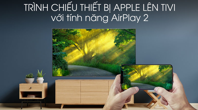 Smart Tivi QLED Samsung 4K 55 inch QA55Q80R - AirPlay 2