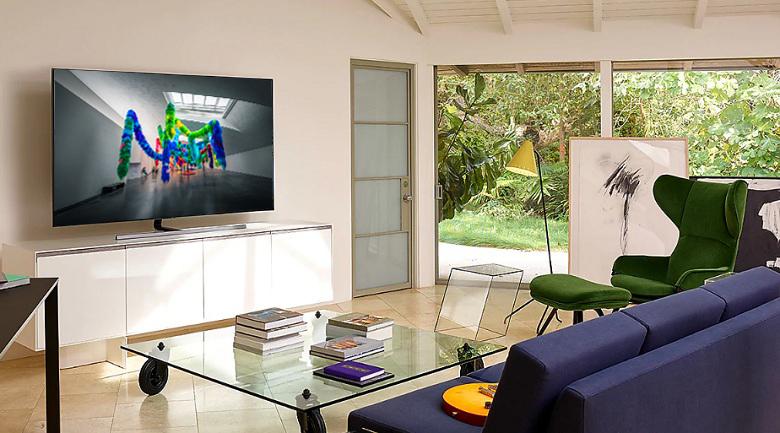 Smart Tivi QLED Samsung 4K 55 inch QA55Q80R - Thiết kế