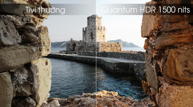 Smart Tivi QLED Samsung 4K 55 inch QA55Q80R - Quantum HDR 1500 nits