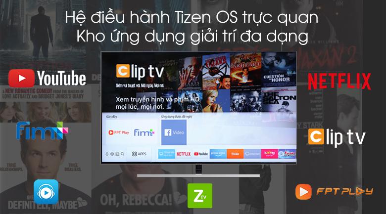 Smart Tivi QLED Samsung 4K 65 inch QA65Q80R - Tizen OS