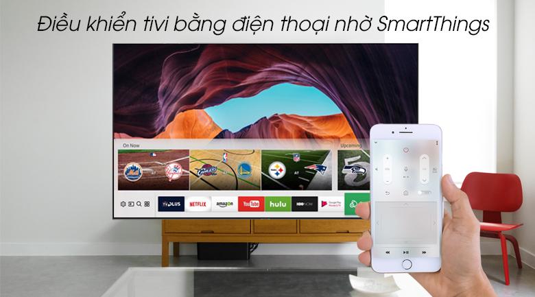 Smart Tivi QLED Samsung 4K 65 inch QA65Q80R - SmartThings