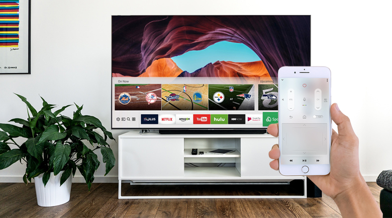 Smart Tivi QLED Samsung 4K 65 inch QA65Q90R - SmartThings