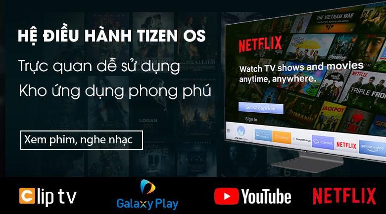 Smart Tivi QLED Samsung 4K 65 inch QA65Q90R - Tizen OS