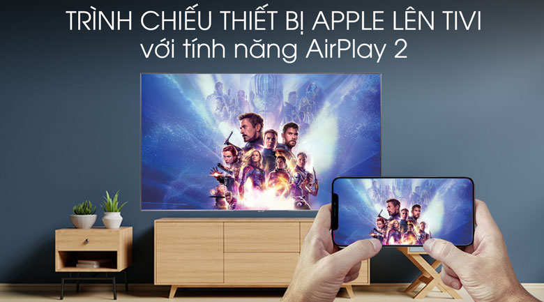 Smart Tivi QLED Samsung 4K 75 inch QA75Q90R - AirPlay 2