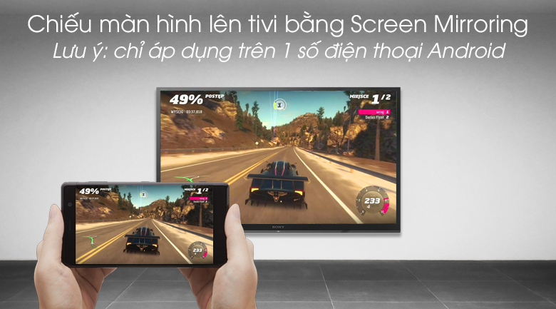 Smart Tivi Sony 32 inch 32W610G - Screen Mirroring