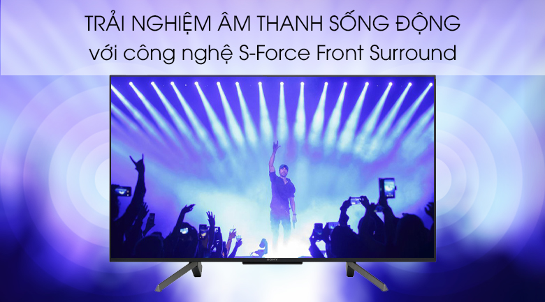 Smart Tivi Sony 43 inch 43W660G - S-Force Front Surround