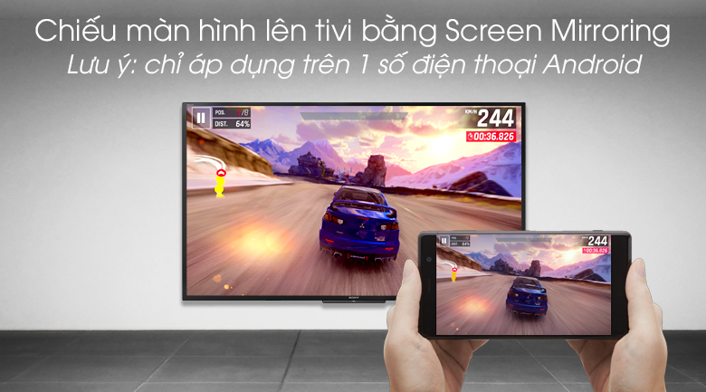 Smart Tivi Sony 43 inch 43W660G - Screen Mirroring