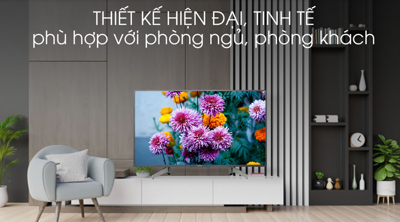 Tivi Sony 43 inch KDL-43W660G - Thiết kế