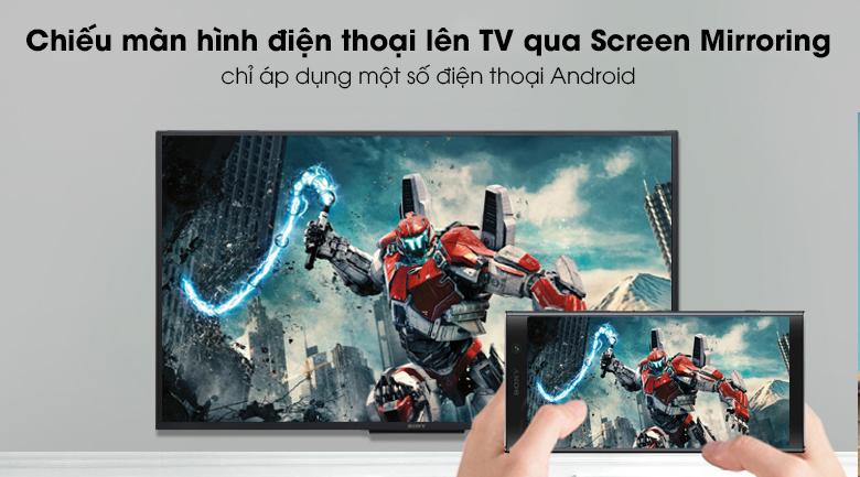 Smart Tivi Sony 50 inch 50W660G - chiếu màn hình