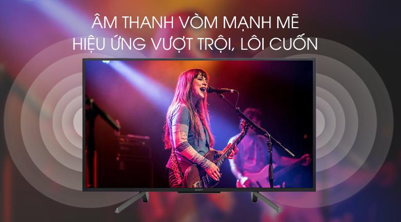 Smart Tivi Sony 50 inch 50W660G - Âm thanh