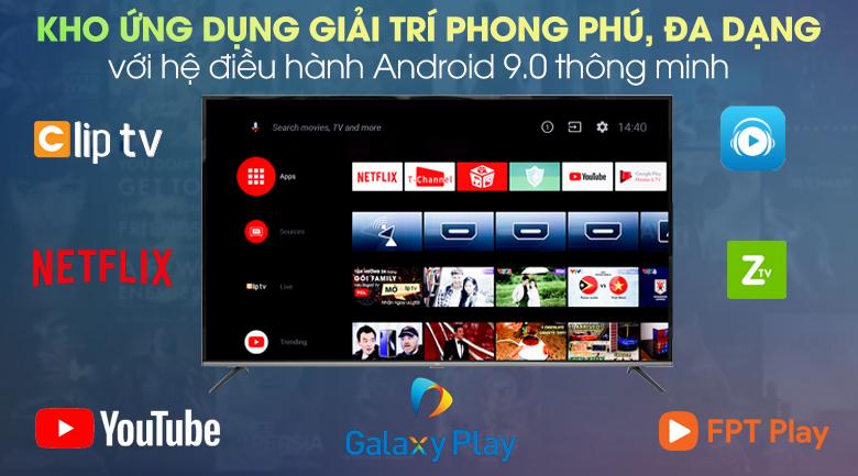 Android Tivi TCL 4K 55 inch L55P8 - Hệ điều hành