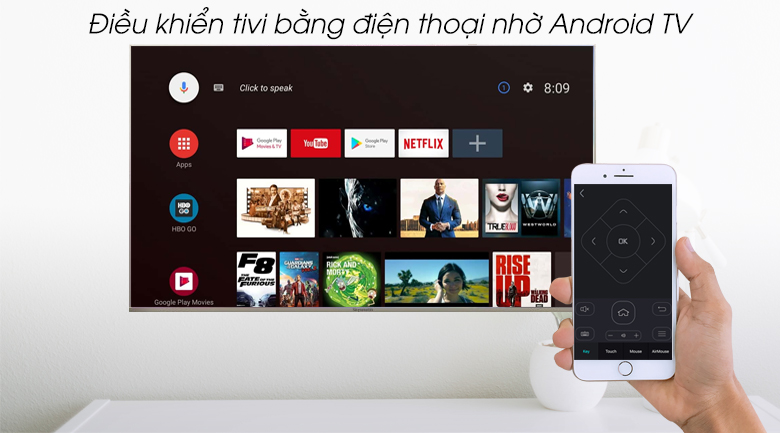 Android Tivi Skyworth 4K 55 inch 55G2 - Android TV