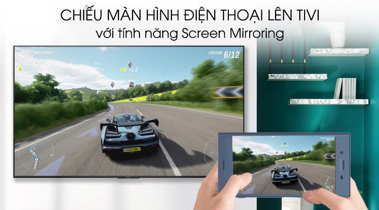 Android Tivi Sony 4K 65 inch KD-65X9500G - Chiếu màn hình điện thoại lên tivi