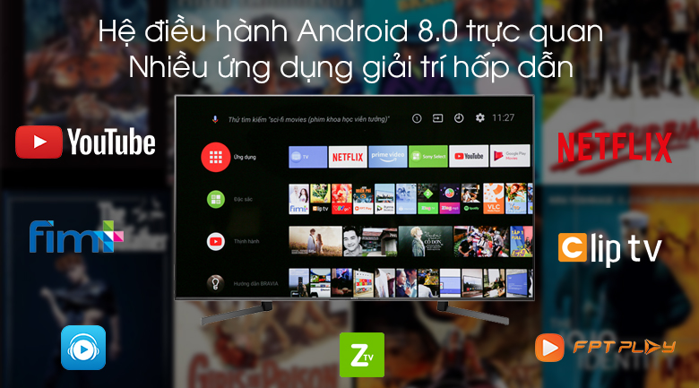 Android Tivi Sony 4K 65 inch KD-65X9500G - Android