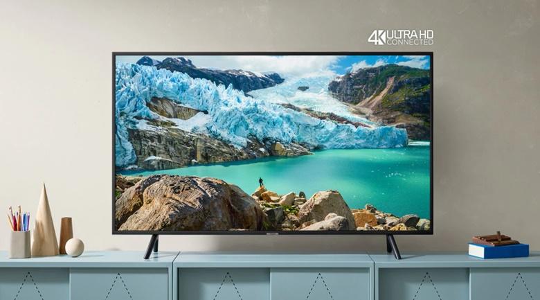 Kiểu dáng tivi hiện đại, sang trọng, thiết kế siêu mỏng