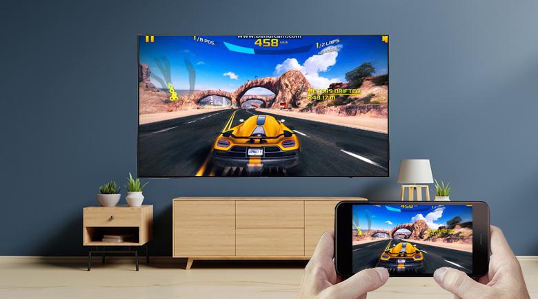 Chiếu màn hình điện thoại lên tivi bằng ứng dụng Screen Mirroring