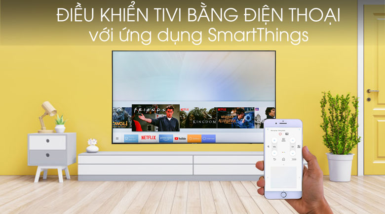 Smart Tivi Samsung 4K 75 inch UA75RU7100 - SmartThings