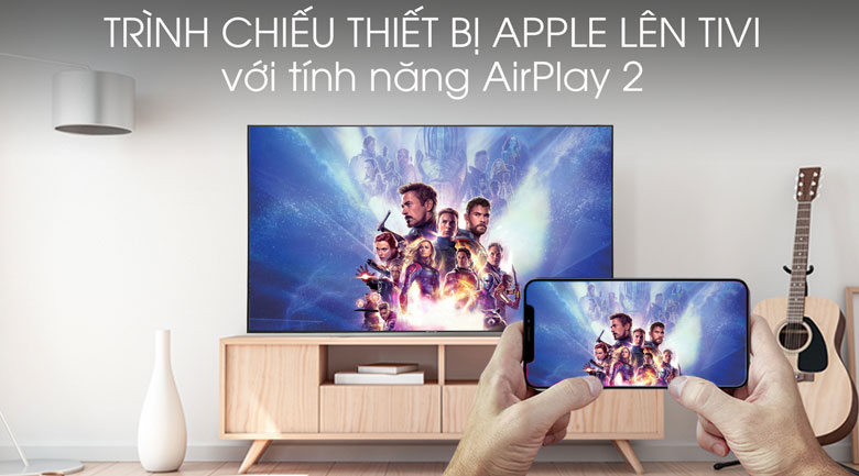 Smart Tivi Samsung 4K 75 inch UA75RU7100 - AirPlay 2