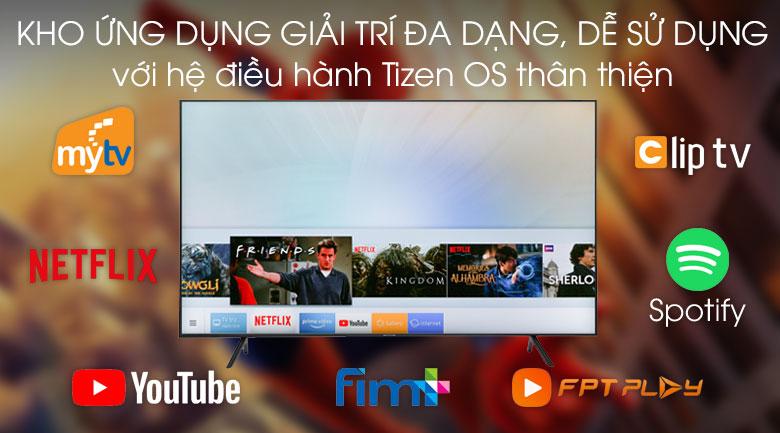 Hệ điều hành Tizen OS cực thân thiện người dùng, sở hữu kho ứng dụng hấp dẫn