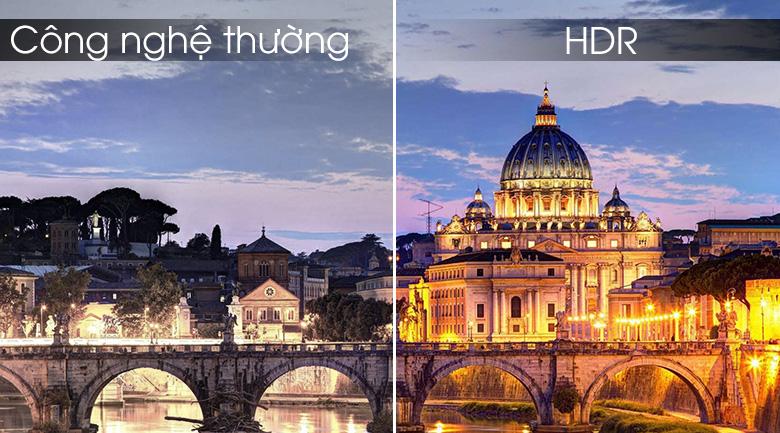 Trải nghiệm hình ảnh nét đến từng chi tiết với công nghệ HDR