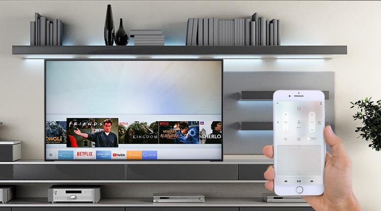 Điều khiển tivi Samsung bằng điện thoại với ứng dụng SmartThings