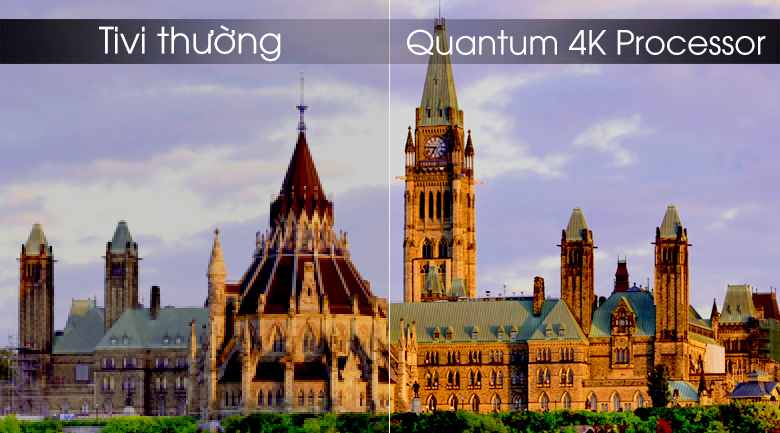 Smart Tivi QLED Samsung 4K 82 inch QA82Q90R - Quantum 4K Processor