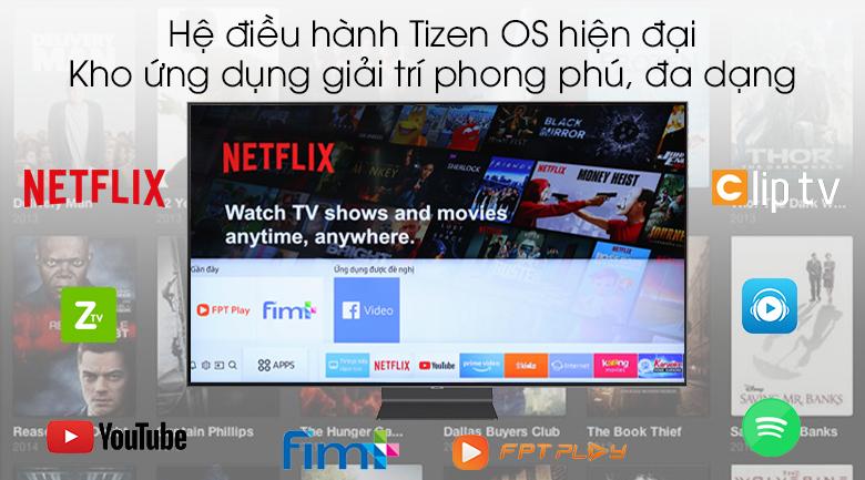 Smart Tivi QLED Samsung 4K 82 inch QA82Q90R - Tizen OS