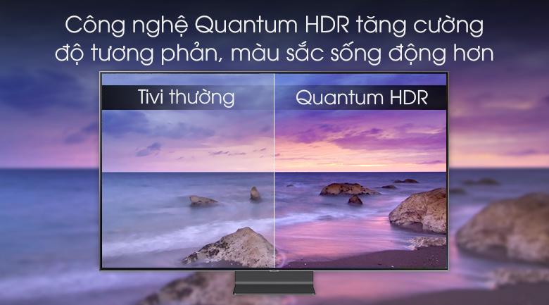 Smart Tivi QLED Samsung 4K 82 inch QA82Q90R - Quantum HDR