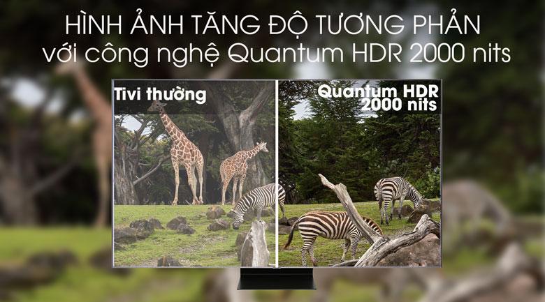 Smart Tivi QLED Samsung 4K 82 inch QA82Q90R - Quantum HDR 2000 nits