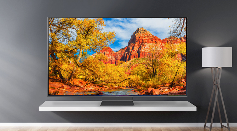 Smart Tivi QLED Samsung 4K 82 inch QA82Q90R - Thiết kế