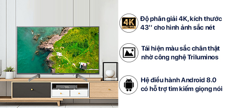 Android TV 4K  43""