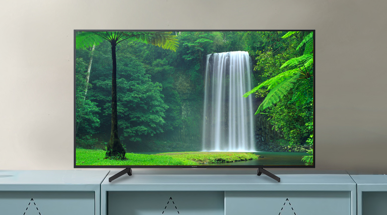 Android Tivi Sony 4K 43 inch KD-43X8000G - Thiết kế