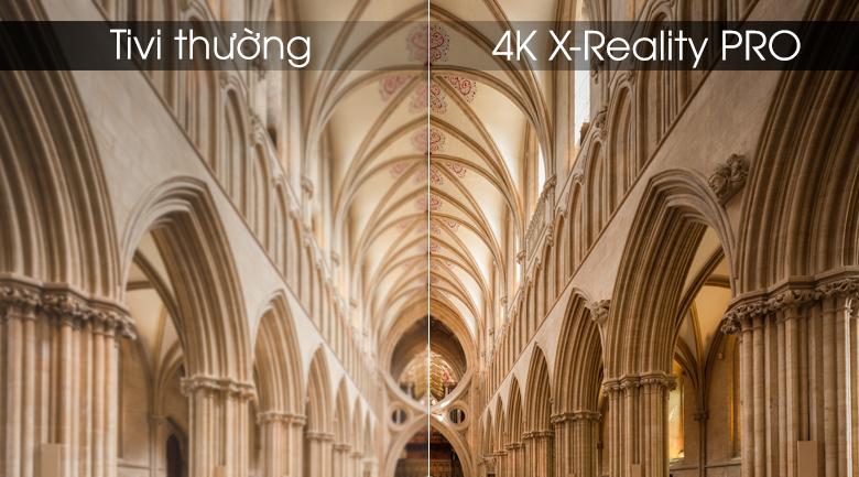 Android Tivi Sony 4K 43 inch KD-49X8000G - 4K X-Reality PRO