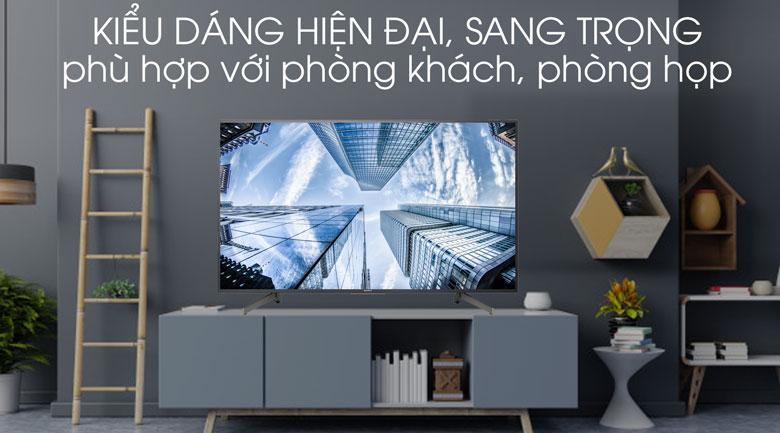 Tivi Sony 4K 55 inch KD-55X8000G - Thiết kế