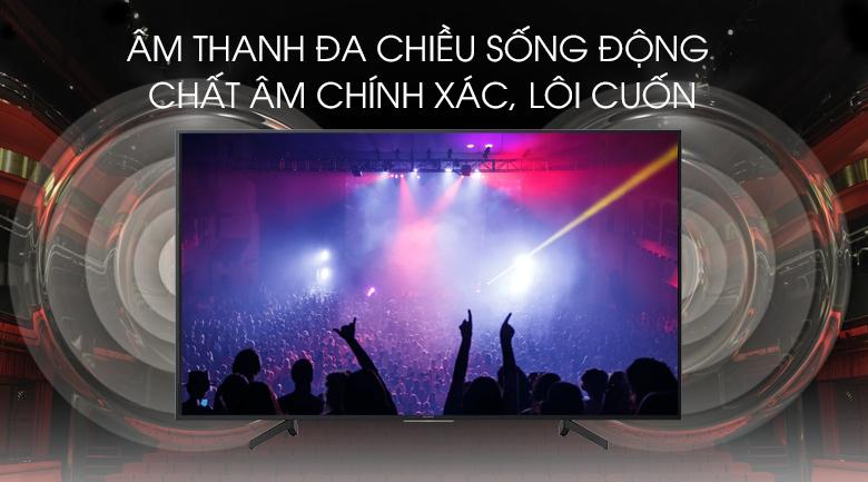 Android Tivi Sony 4K 55 inch KD-55X8000G - Công nghệ âm thanh