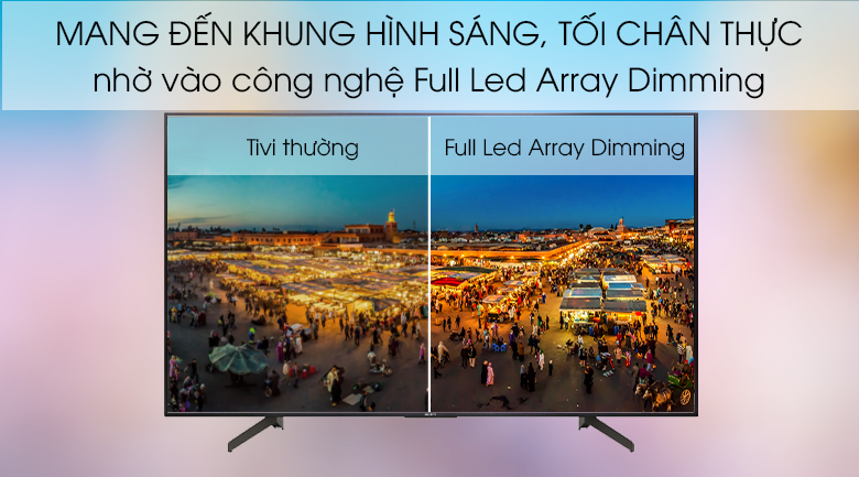 Android Tivi Sony 4K 55 inch KD-55X8500G - Edge LED Frame Dimming