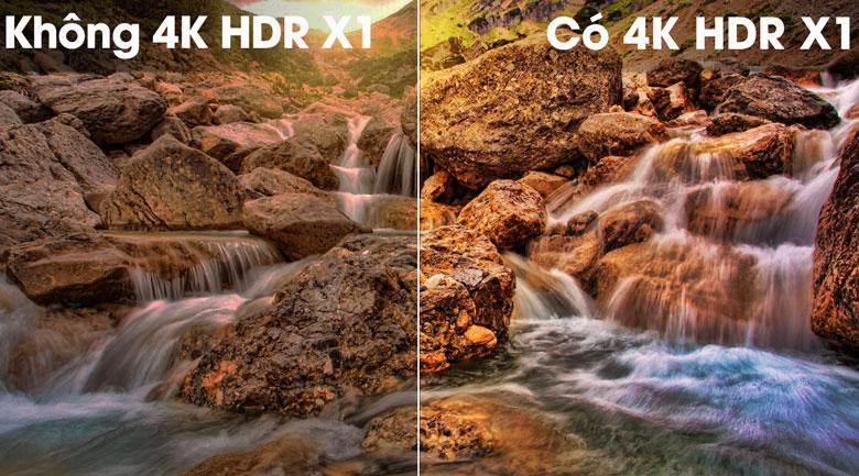 Tivi Sony 4K 55 inch KD-55X8500G Bộ xử lý