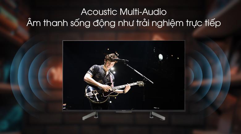 Android Tivi Sony 4K 55 inch KD-55X8500G - Âm thanh sống động