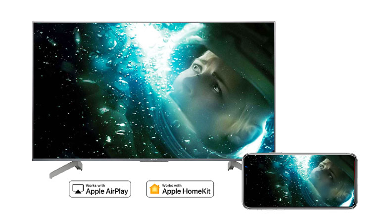 Airplay 2 - Android Tivi Sony 4K 55 inch KD-55X8500G/S