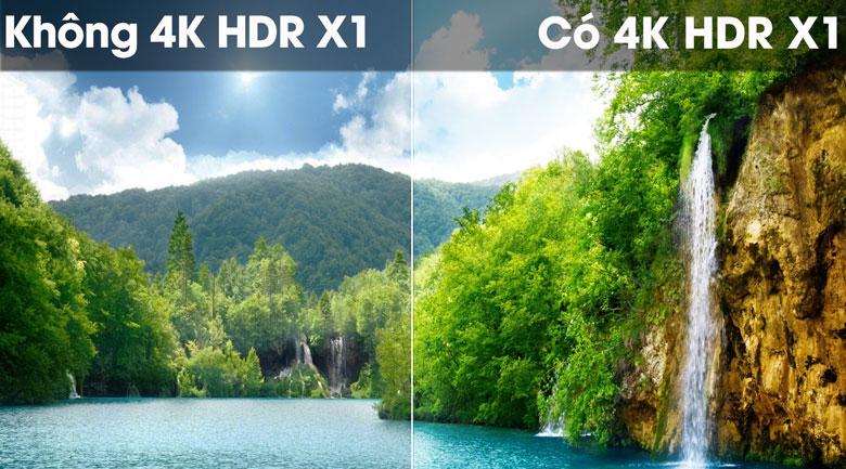 Tivi Sony 4K 55 inch KD-55X8500G/S 4K HDR X1