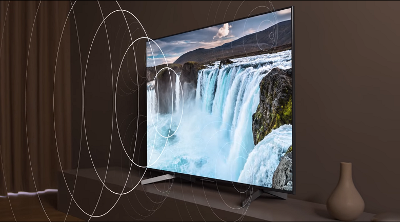 Android Tivi Sony 4K 55 inch KD-55X8500G/S - Âm thanh