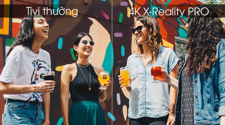 Android Tivi Sony 4K 65 inch KD-65X8500G - 4K X-Reality PRO