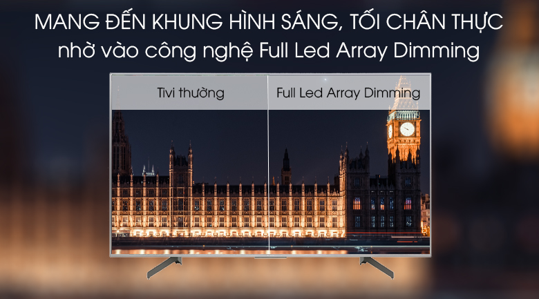 Android Tivi Sony 4K 65 inch KD-65X8500G/S - Full Led Array Dimming