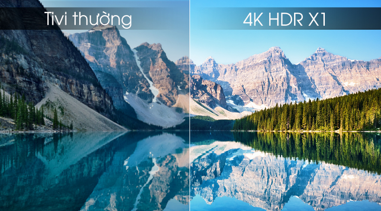 Android Tivi Sony 4K 65 inch KD-65X8500G/S - 4K HDR X1